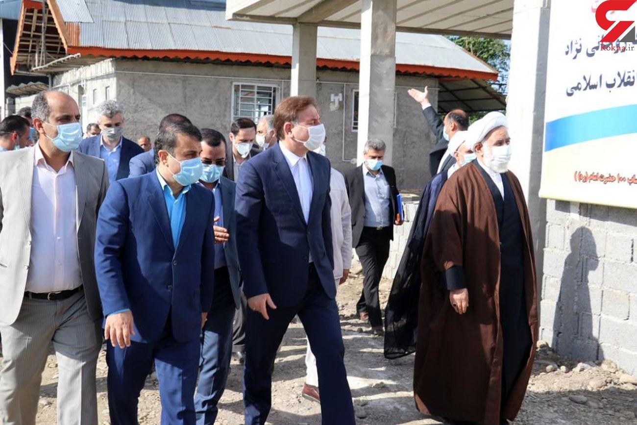 افتتاح هشتاد و پنجمین واحد مسکن محرومین در رشت