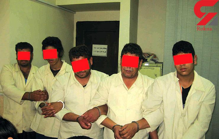 قلدرهای تبهکار  در ایستگاه زندان