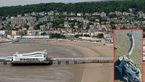 کشف هیولای کوچک دریایی در ساحل بریتانیا