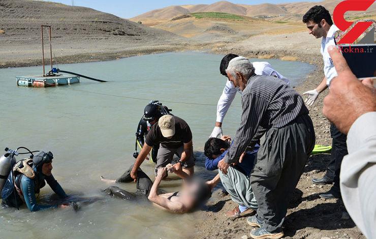 مرد 35 ساله به هنگام شنا در سد غرق شد