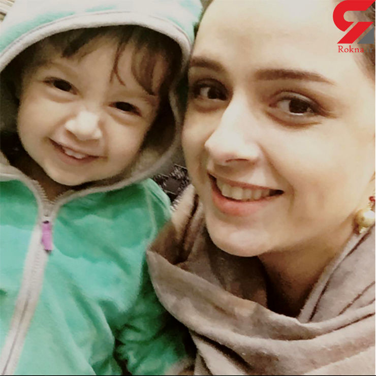 عکس ترانه علیدوستی به همراه دخترش