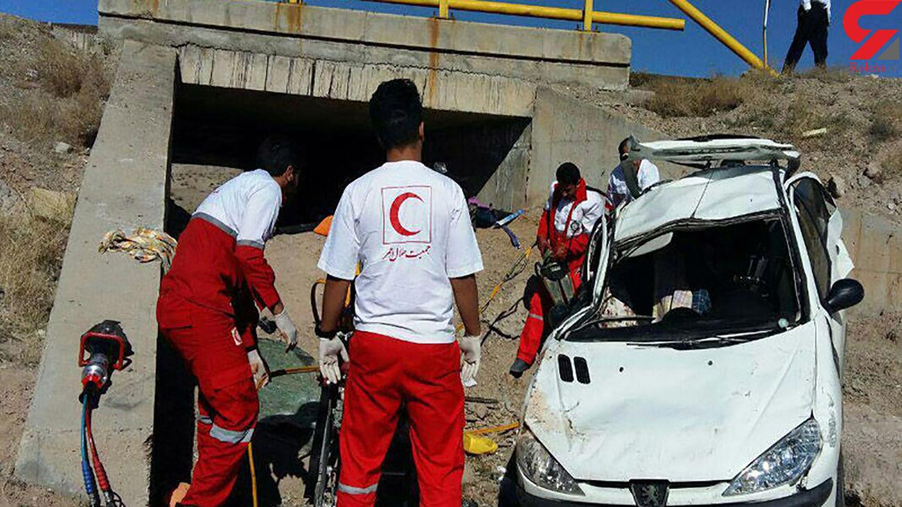 8 قربانی براثر حادثه وحشتناک برای 3 خودرو در مهریز