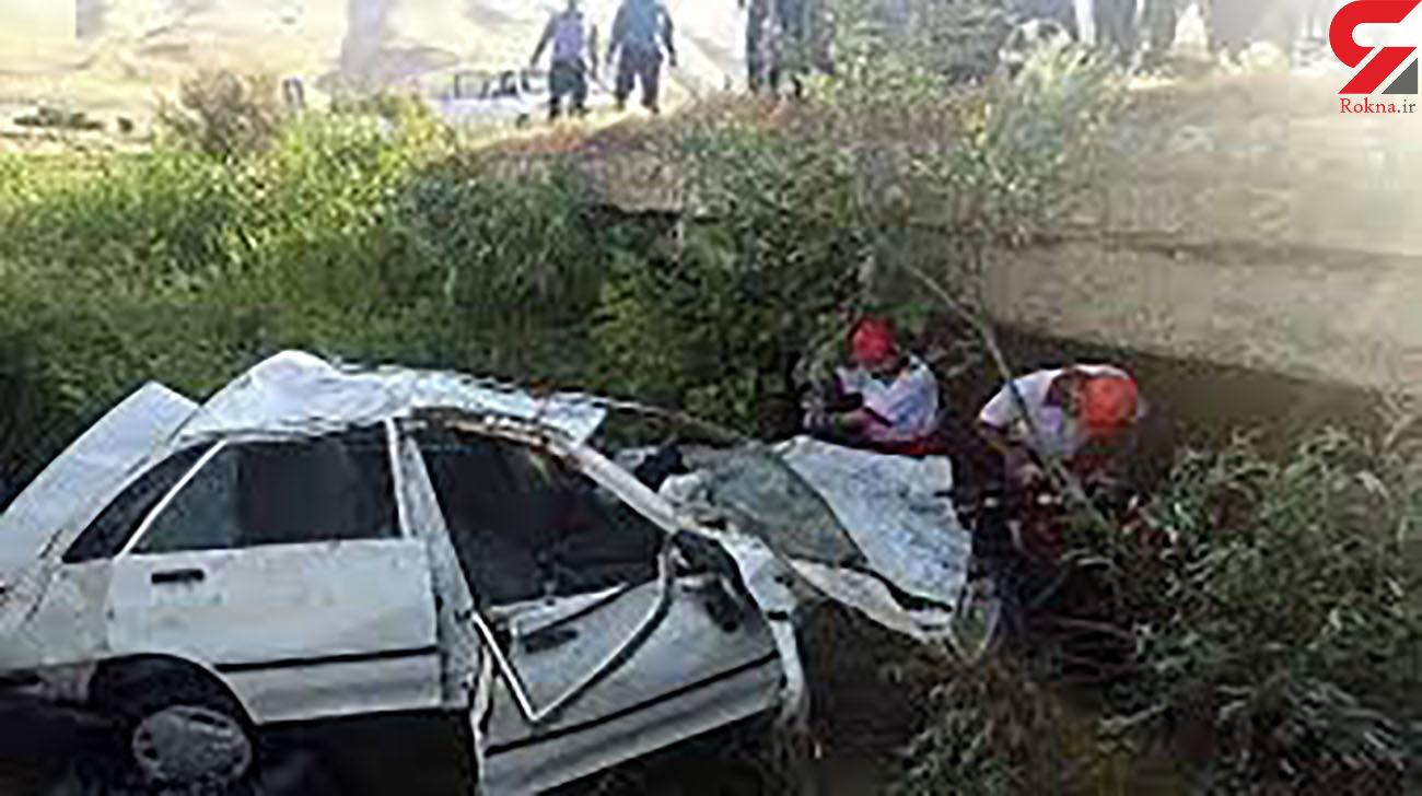 واژگونی پراید در زنجان قربانی گرفت