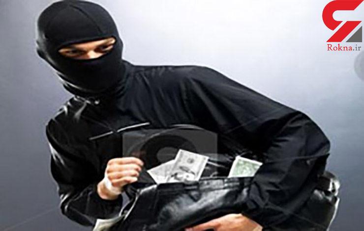 بانک ملی تاکستان از دست سارقان در امان نماند