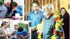 پدری پس از 38 سال زنده شد! / راز زندگی پیرمرد مهربان  اندیمشکی +عکس دیدار با فرزندان و نوه ها