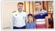 نجات گروگان 8 ساله هرمزگانی پیش از انتقال به آن سوی مرز+ تصویر