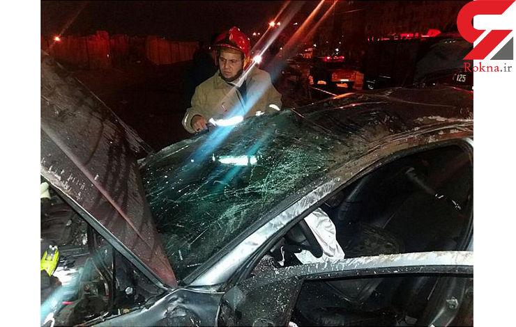 تصادف مرگبار اسپورتیج و ۲۰۶ + عکس