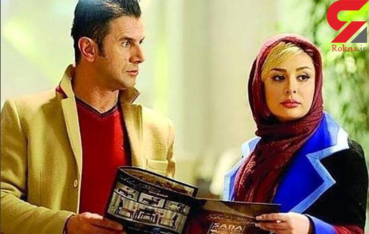 امین حیایی و رفقا مقابل چند بازیگر زن صف آرایی کردند +عکس