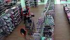 اقدام وحشتناک مرد شیطان صفت با یک دختر در سوپر مارکت بزرگ