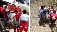 نجات کوهنورد بافتی در ارتفاعات کوهشا