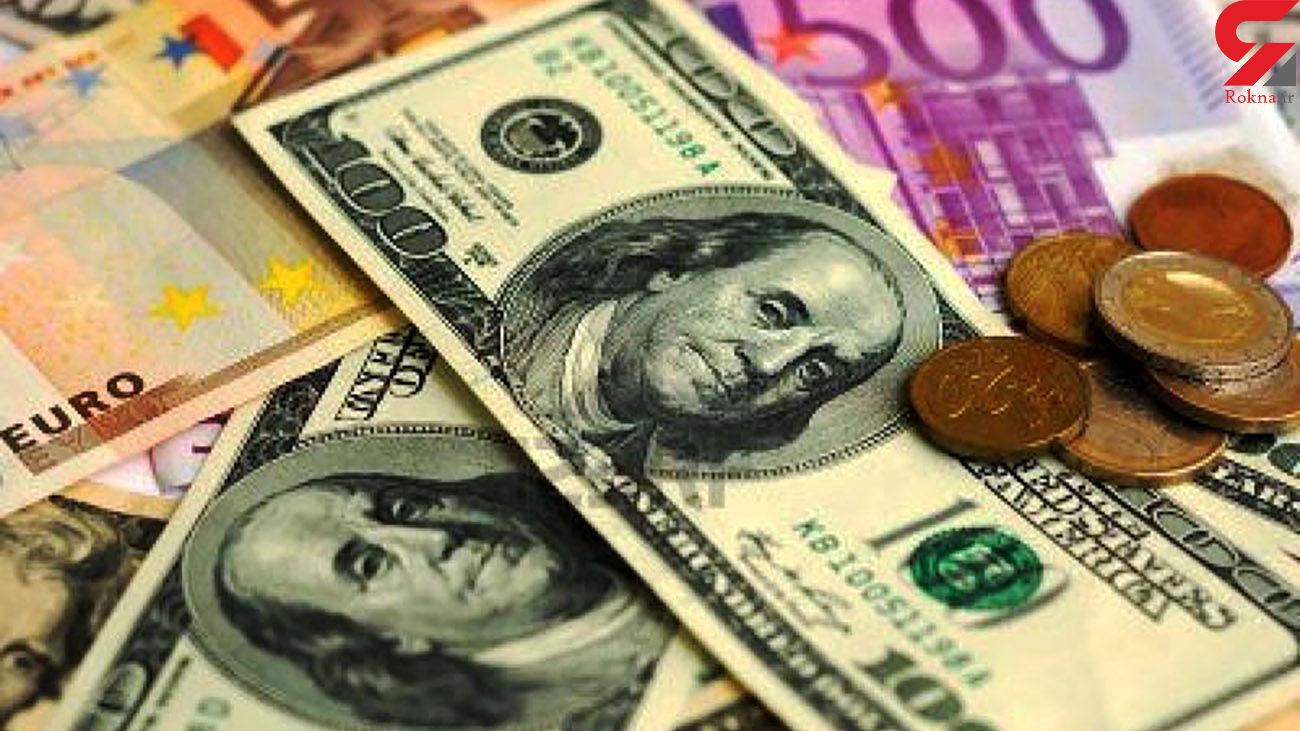 قیمت دلار کاهش یافت + جدول