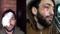 آخرین وضعیت روحانی که مقابل مزاحم یک خانم ایستاد / چاقوکش مست فرار کرد + عکس