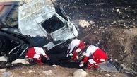 اسپورتیج با 5 سرنشین زیر تریلی له شد / در خوزستان رخ داد +عکس