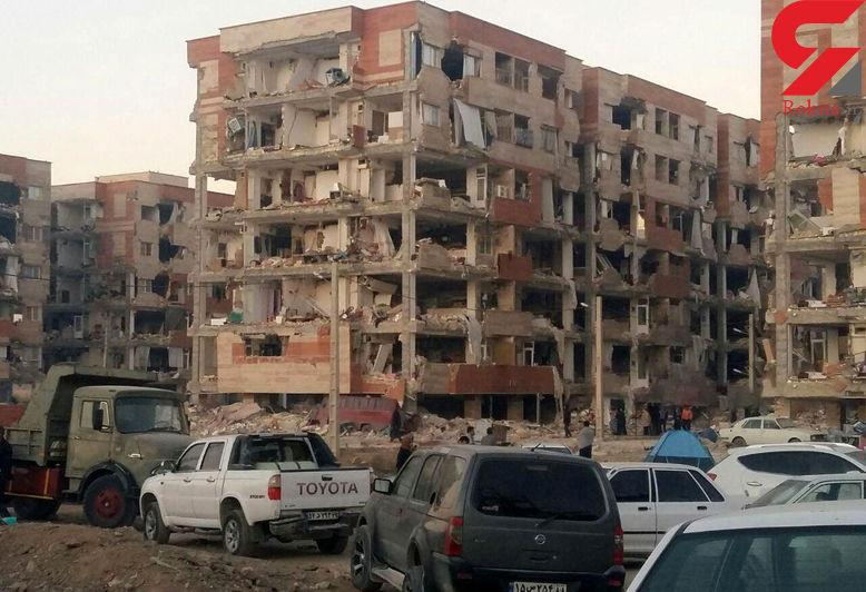عاقبت سیاه مسکن مهر پس از زلزله هولناک در سرپل ذهاب+ عکس قبل و پس از حادثه