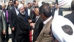 دکتر روحانی وارد مشهد شد