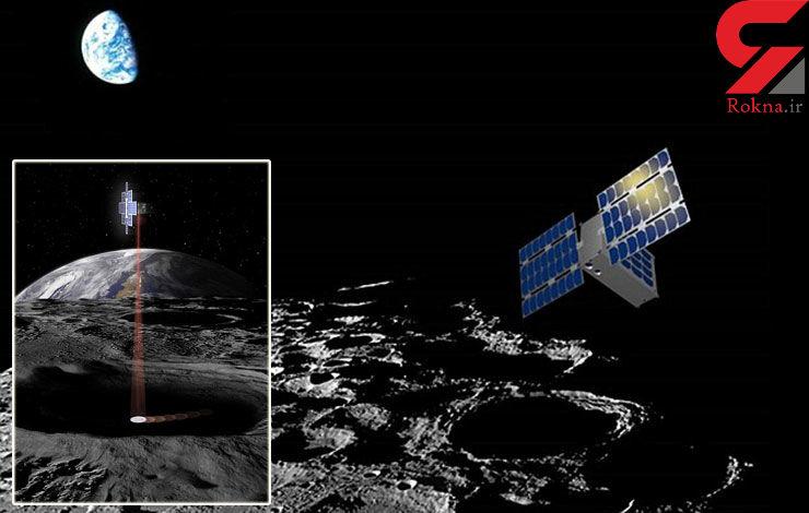 ارسال چراغ قوه به ماه