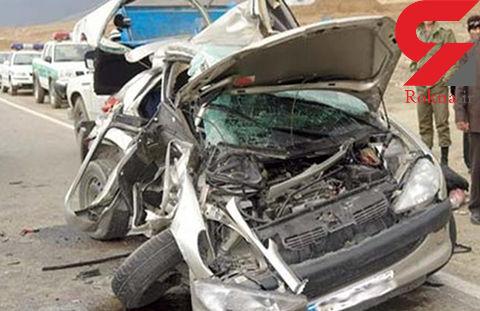 2 کشته در تصادف جاده چالوس