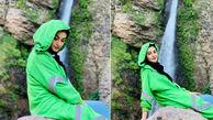 شیطنت مریم مومن هنگام گفتن اسم نامزدش + فیلم