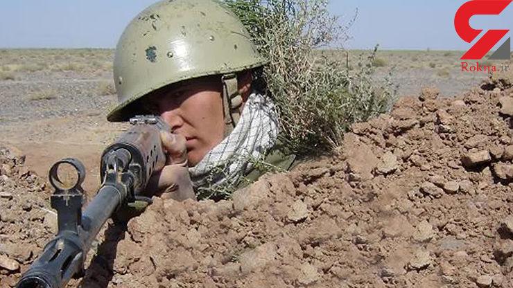 عکس آرمین فخری سرباز مرزبانی که در بانه به شهادت رسید