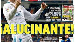 صفحه اول روزنامه های امروز اسپانیا + عکس