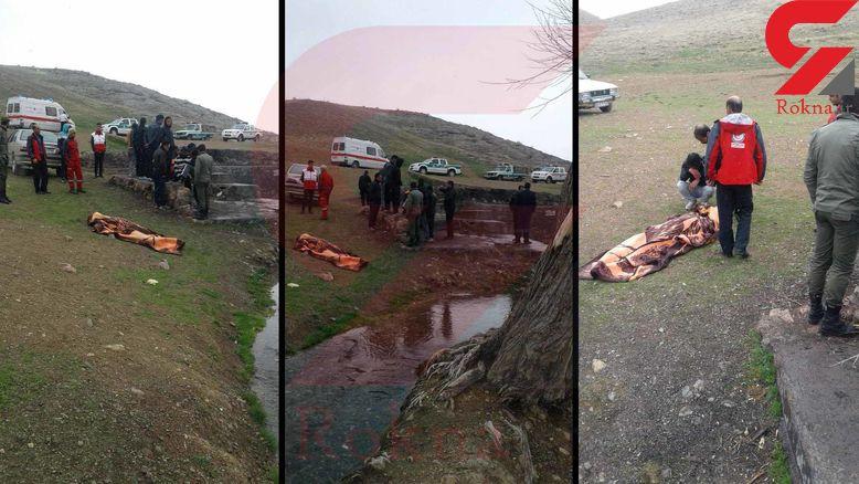 تصاویر تلخ از غرق شدن مرد جوان در استخر مزرعه + عکس