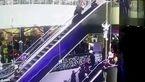 مرگ  کودک با گیر کردن لباس مادرش در پله برقی + عکس