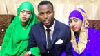 این مرد در یک روز با دختر عمو و دختر عمه زیبایش ازدواج کرد + تصاویر