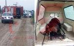 عکس جسد یک زن در کانال آب  پارس آباد مغان ! + عکس