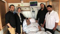 توئیت جالب پسر هم اتاقی ناصر ملک مطیعی در بیمارستان!