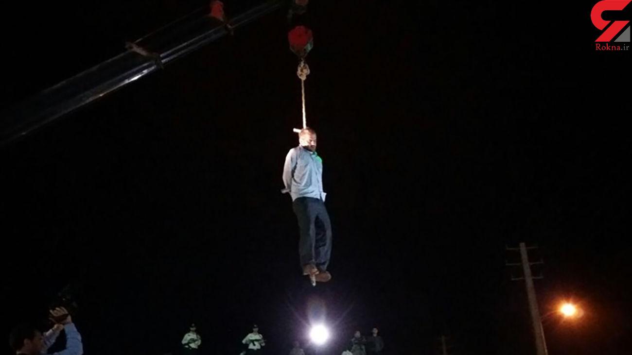 اعدام اسماعیل به خاطر قتل دختر 7 ساله + فیلم لحظه اعدام