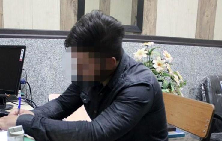 آزار شیطانی سیمین  جلوی چشمان سعید در  پارک / در تهران رخ داد + عکس