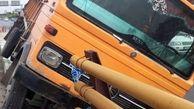 یک کشته در برخورد ایسوزو با کامیون در دامغان