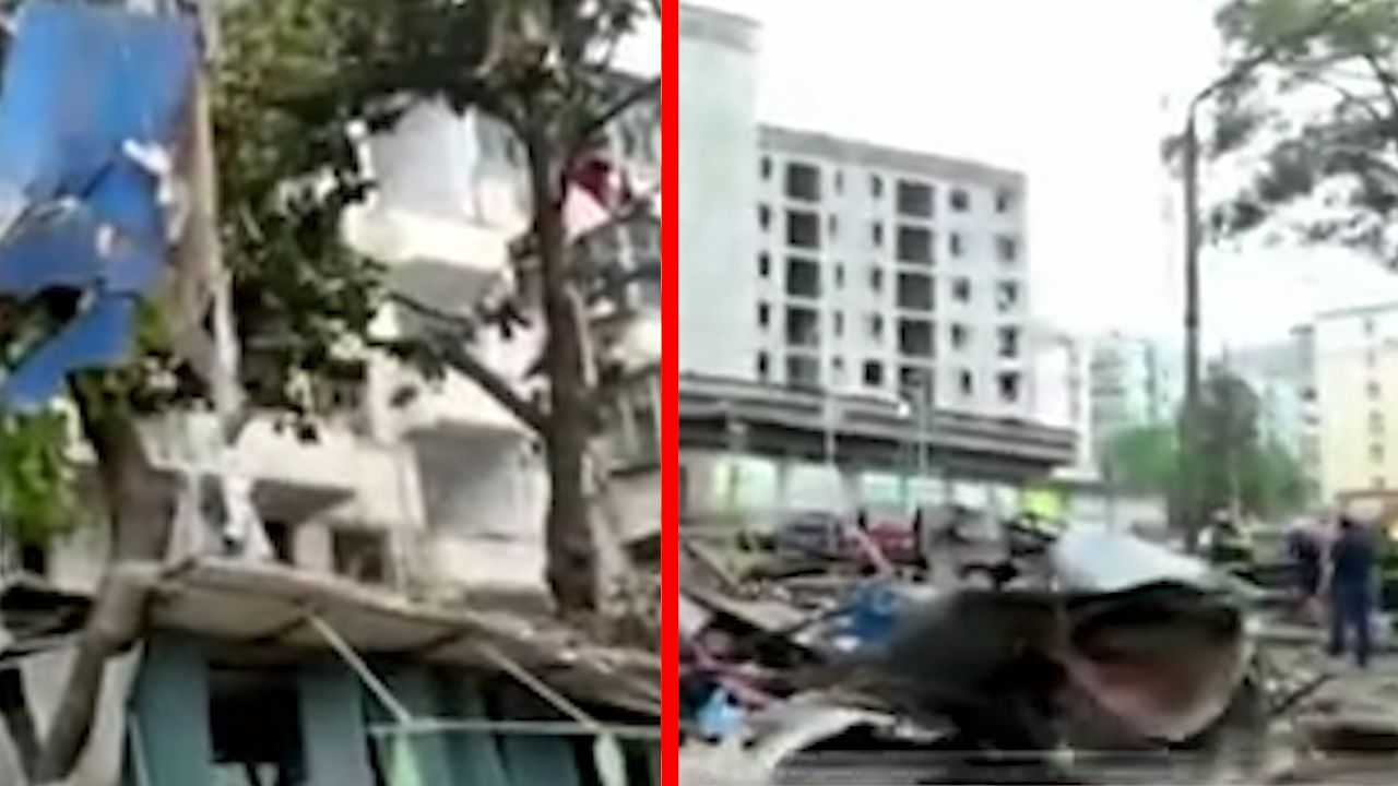 48 people killed, wounded in a gas pipe explosion in China
