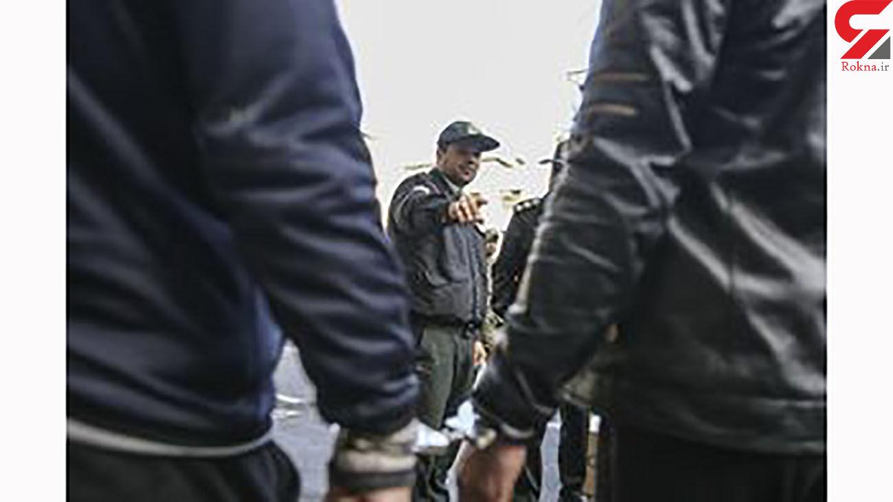 دستگیری سارق لوازم خودرو در قم