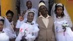 ازدواج همزمان محمد با 3 دختر! / همه عروس ها راضی هستند + عکس