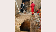 نجات معجزه آسای مرد سبزواری از عمق چاه 30 متری + عکس