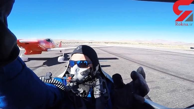 برخورد شدید دو هواپیما بر روی باند + فیلم