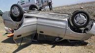 حادثه رانندگی در ساوه / یک کشته و 2 مصدوم به جا ماند