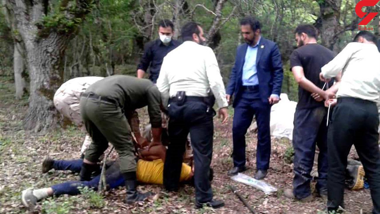 دستگیری 8 حفار غیرمجاز در چالوس