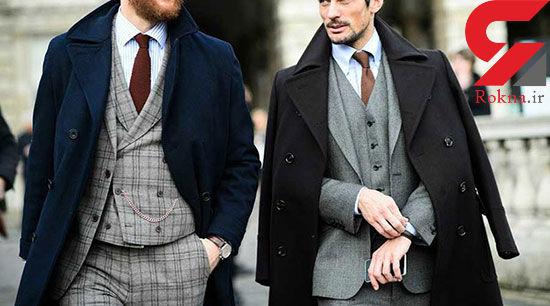 تیپ جادویی مردان با پوشیدن این پالتوها+تصاویر