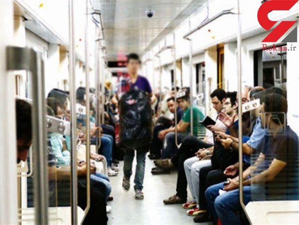 جولان مافیای دستفروشی در مترو تهران / دستفروشان فقط زنده اند