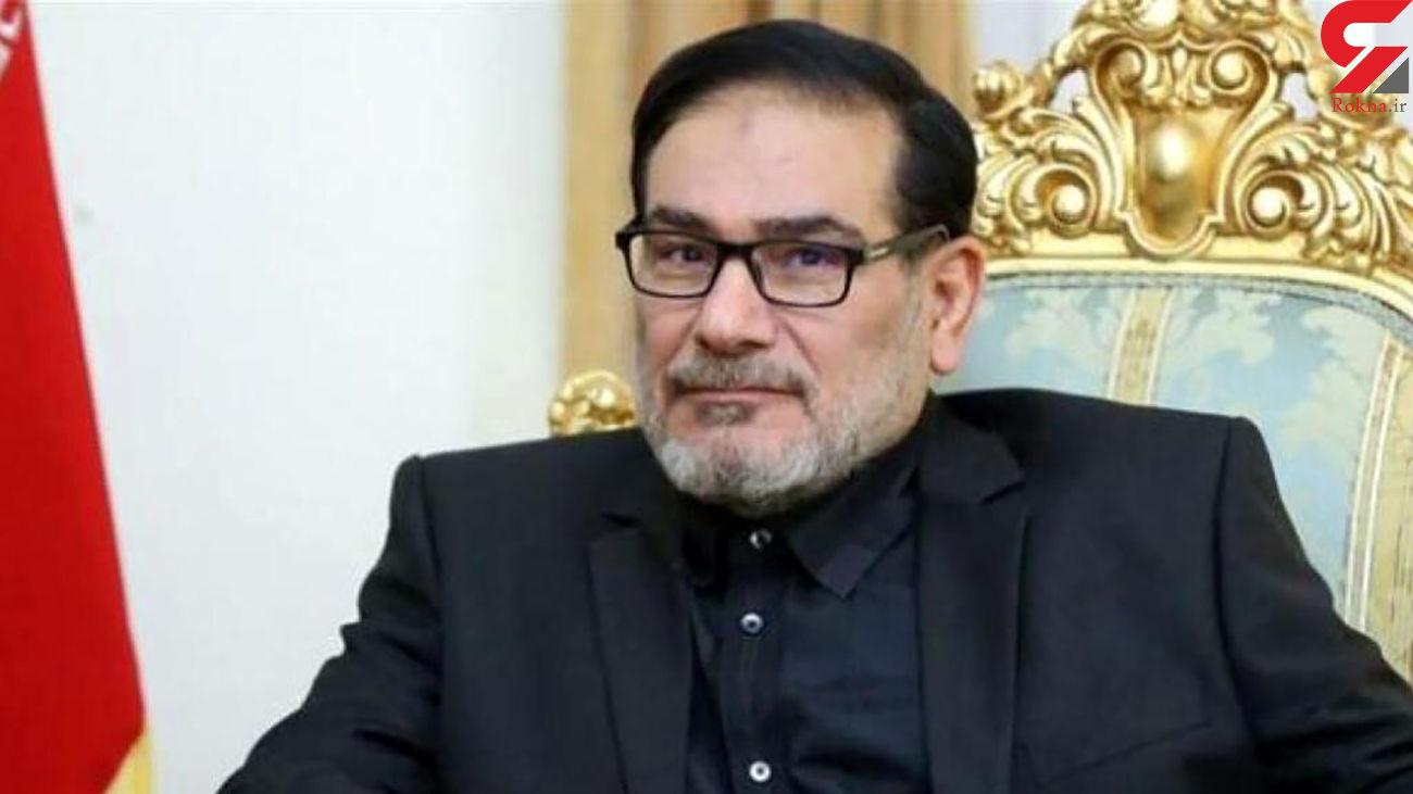 قدردانی شمخانی از سفر رئیس مجلس به خوزستان
