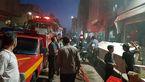 آتش سوزی شامگاهی در خیرآباد ورامین