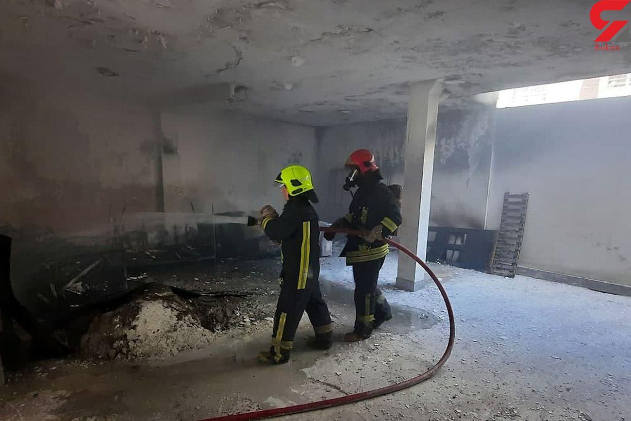 3 حادثه آتشسوزی در سنندج مهار شد
