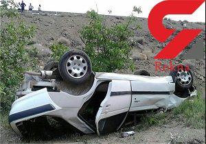 واژگونی وحشتناک پژو پارس در گرگان