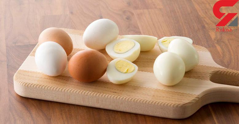 3 روش برای آسان پوست کندن تخم مرغ آب پز