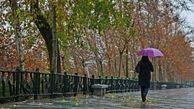 هوای کشور امروز و فردا بارانی میشود