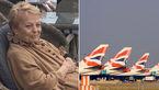 پیرزن ۸۷ ساله در پرواز بریتیش ایرویز خودش را خیس کرد / مهمانداران اجازه استفاده از سرویس بهداشتی را ندادن و ...+عکس