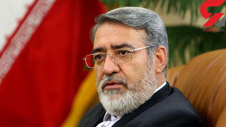 وزیر کشور : لازم باشد شب انتخابات هم استانداران و فرمانداران را تغییر میدهم