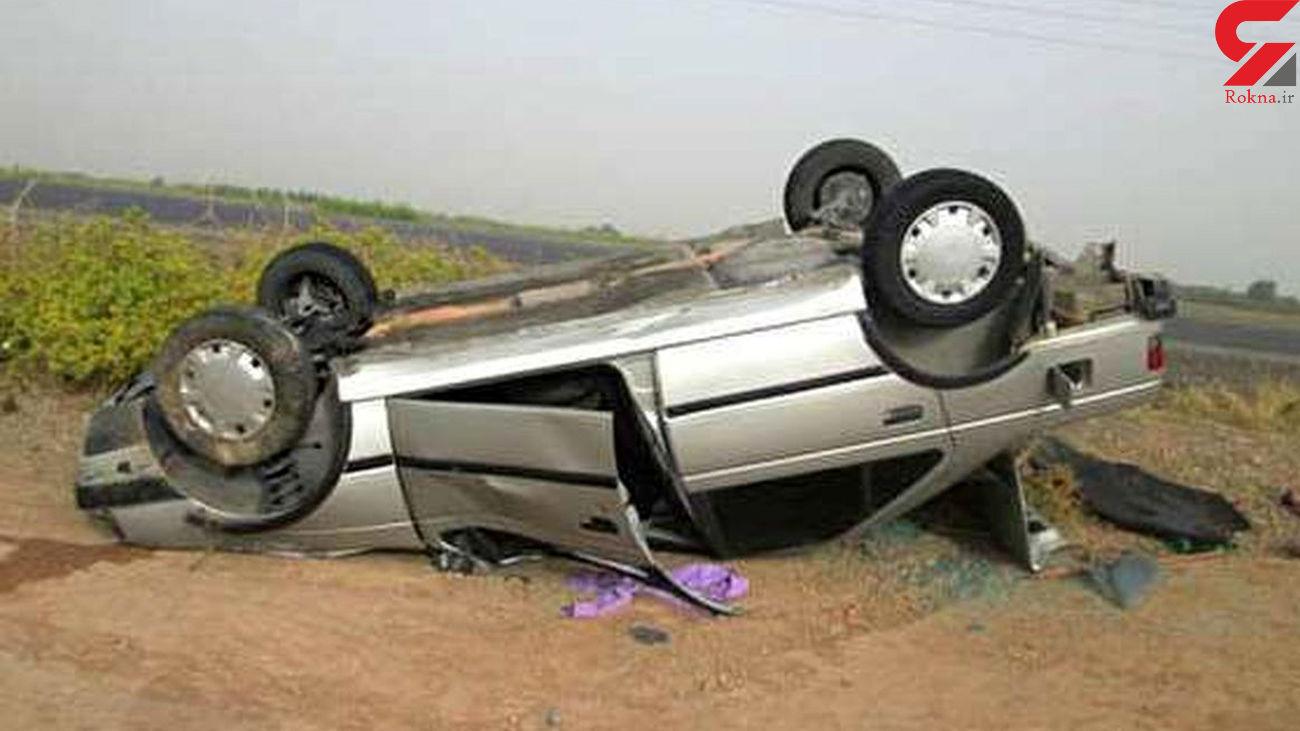 جان باختن 2 جوان در حوادث رانندگی استان همدان